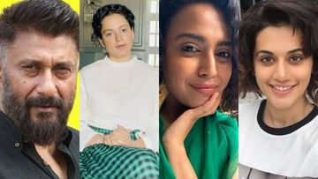 Did Vivek Agnihotri Support Kangana Ranaut While Taking A Dig At Taapsee Pannu, Swara Bhasker? Says, 'B Graders Unite In Their Hate For A Graders'