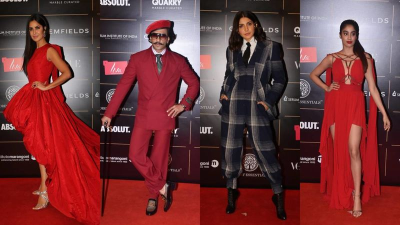 Vogue Woman Of The Year 2019: Katrina Kaif, Ranveer Singh, Anushka Sharma And Janhvi Kapoor Glam Up The Red Carpet