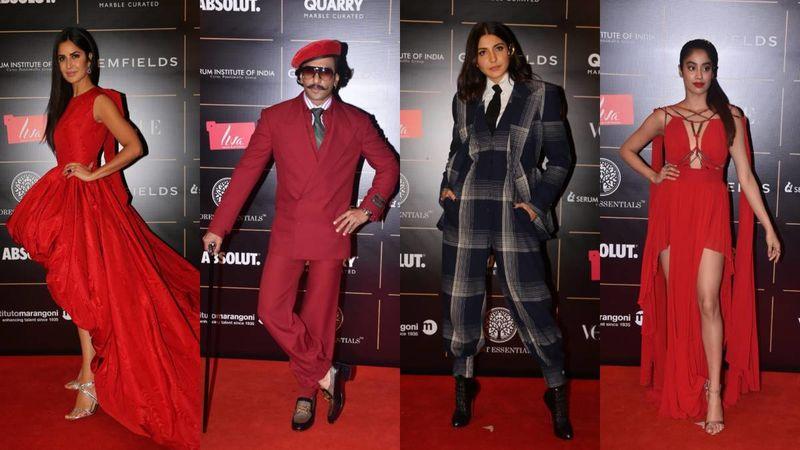 Vogue Woman Of The Year 2019: Katrina Kaif, Ranveer Singh, Anushka Sharma And Janhvi Kapoor Glam Up The Red Carpet