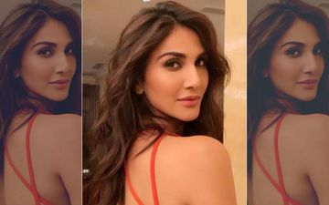 Vaani Kapoor's Flaming Orange Outfit Is 'lit'