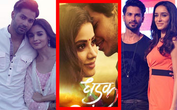 Great First Impression: Varun, Alia, Shahid, Shraddha Hail Janhvi's Performance In Dhadak Trailer