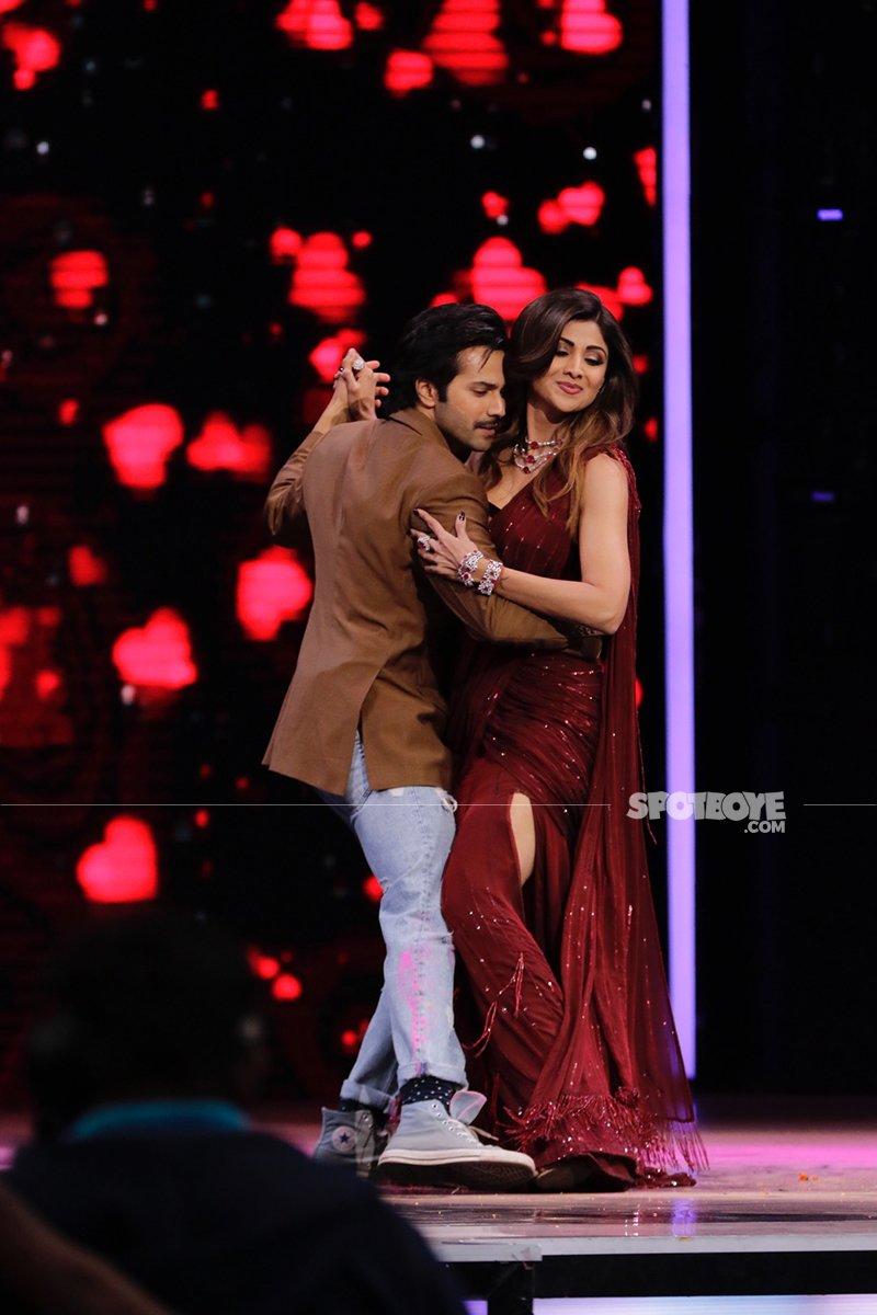 Varun Dhawan Shilpa Shetty Burn The Dance Floor