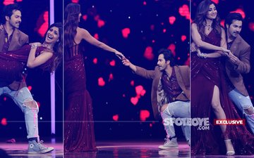 Don't Miss These 7 Pictures Of Varun Dhawan Wooing Shilpa Shetty