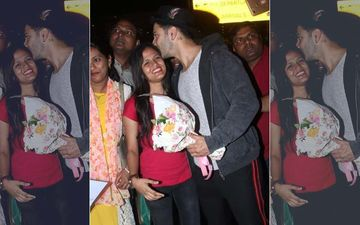 Varun Dhawan Kissed A Fan Girl After She Went Down On Her Knees To Propose To Him
