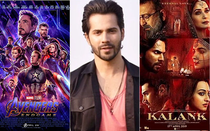 Kalank Star Varun Dhawan Feeling The Heat, Courtesy Avengers: Endgame?