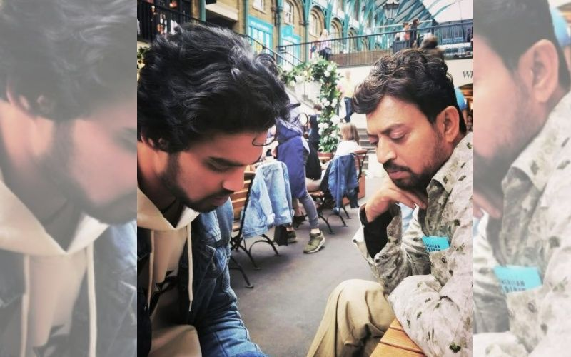 Irrfan Khan's Son Babil Shares A Throwback Picture Of His Late Father Cuddling A Puppy; What An Endearing Sight - PIC INSIDE