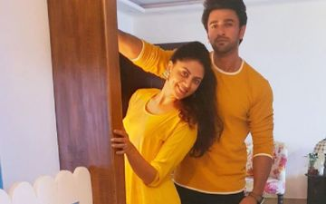Bigg Boss 14's Evicted Contestants Kavita Kaushik And Nishant Singh Malkhani Catch Up; Go Colour Coordinated In Yellow