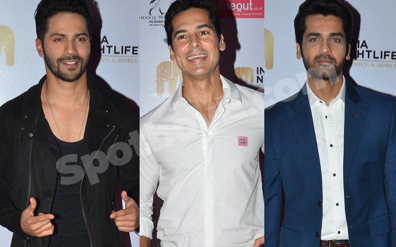 Varun Dhawan, Dino Morea, Arjan Bajwa at Indian Nightlife Convention