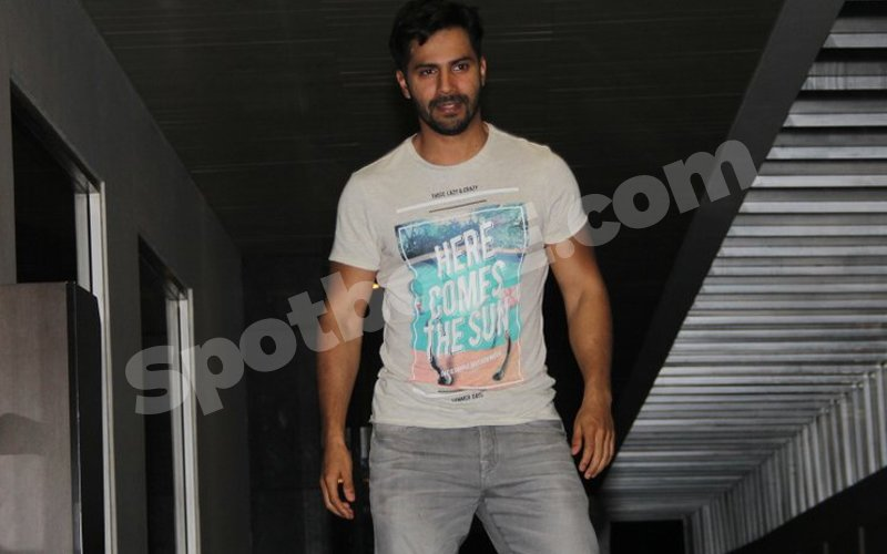 Varun Dhawan's 'Spare Me' Gesture To The Media! But Why?