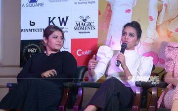 Swara Bhasker Responds To Veere Shikha Talsania's Compliments; Says Shikha Knows 'Aaj Kya Bhasad Hua Hai Is The Question Of My Life'