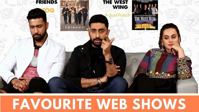 जानिए मनमर्जियां के सितारें अभिषेक बच्चन, तापसी पन्नू और विक्की कौशल के फेवरेट वेब शो कौन से हैं?