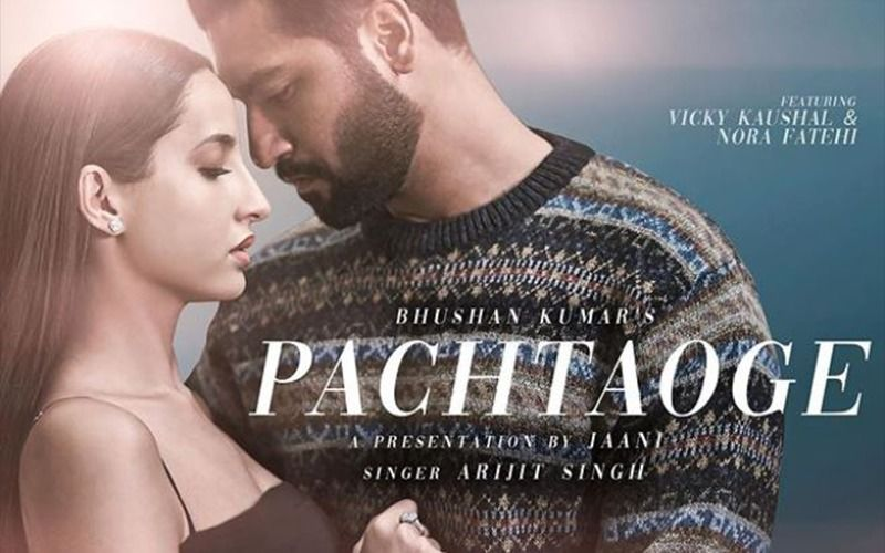 "Vicky Kaushal Meets Nora Fatehi And They Seem To Be Saying ""Pachtaoge,"" Here's Why"