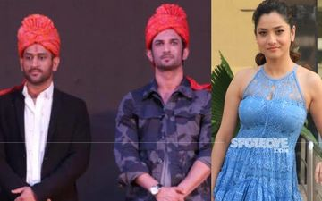 Ankita Lokhande REFUTES Depression Narrative Around Sushant Singh Rajput; Says, 'He Wanted To Be Like Dhoni, Calm In Failure And In Success'