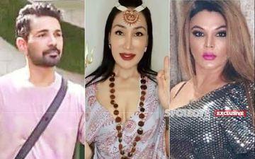 Sofia Hayat Turns Goddess After Abhinav Shukla's Eviction From Bigg Boss 14; Says, 'Main Aur Shiva Rakhi Ke Peeche Hain'