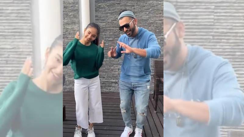 Khatron Ke Khiladi 11: Rahul Vaidya And Anushka Sen Enjoy 'Reel Time Between Shots'; Get All Groovy On Dil Ka Sauda Hua - WATCH HERE