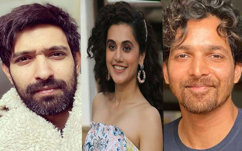 Haseen Dillruba: Taapsee Pannu Shares Her First Impression Of Vikrant Massey And Harshvardhan Rane; Reveals She Saved His Name As 'Vikrant Vanilla Massey'