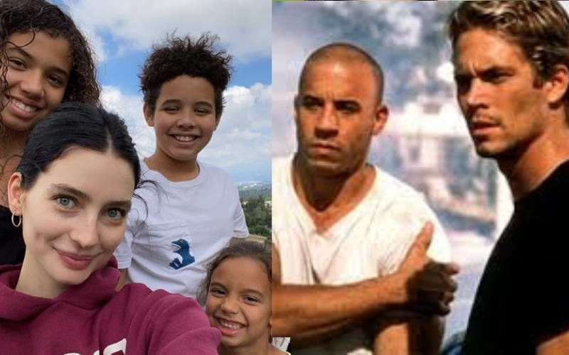 Paul Walker's Daughter Meadow Chills With Vin Diesel's Kids; Shares Awesome Selfie Calling Them 'Family'