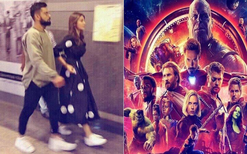 Anushka Sharma & Virat Kohli Steal Time For A Movie Date, Watch Avengers In Bangalore