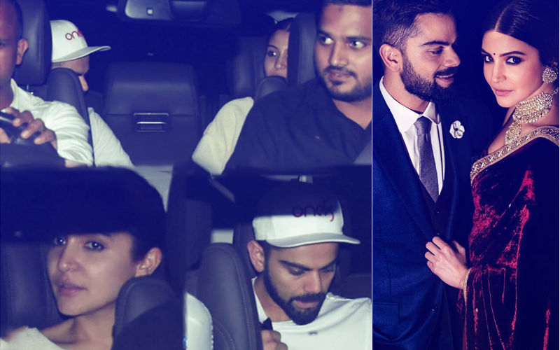 Amid Litter Controversy, Virat Picks Up Anushka After Shoot