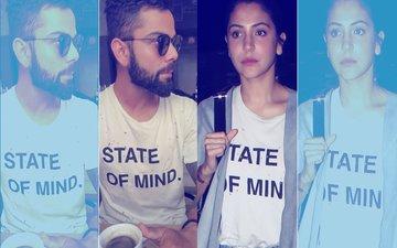 Pic: Anushka Sharma Wears Virat Kohli's T-Shirt