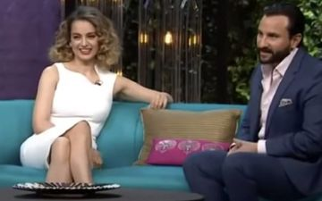 Saif Ali Khan On Kangana Ranaut's Nepotism Remarks On Karan Johar's Koffee With Karan: I Have No Idea What She Was Saying