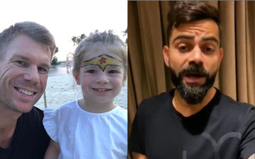 'I Am Virat Kohli', Says Cricketer David Warner's Daughter Indi Rae As She Shows Off Her Batting Skills - Video Alert