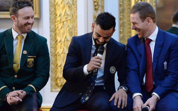 Virat Kohli Shares Picture With Eoin Morgan And AB de Villiers, Says Rivalries Stay On The Field