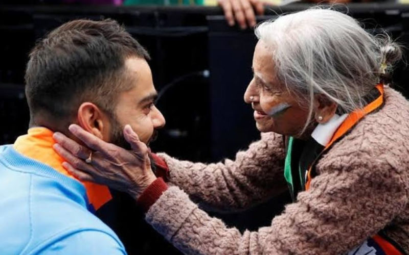 Shikhar Dhawan Mourns Team India's Biggest Fan Charulata Patel's Death; Here Are Her Pics With Cricketers