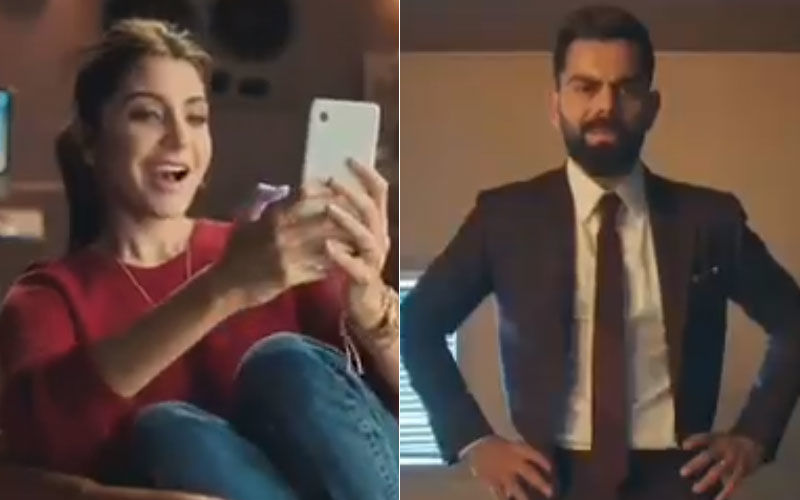 Virat Kohli Seeks Acting Advice From Anushka Sharma, Gets Fooled By Darling Wife!