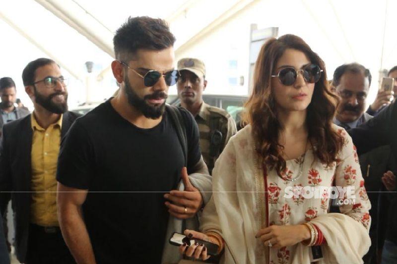 Preggers Anushka Sharma Pulling Off A Headstand Is Just WOW; Doting Husband Virat Kohli Extends Help - PIC INSIDE