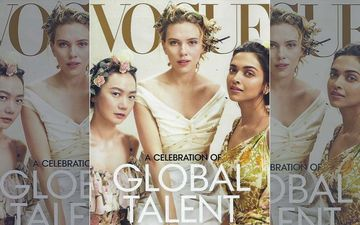 Deepika Padukone On Vogue Cover  With Hollywood Sensation Scarlett Johansson And Bae Doona Is Simply WOW!