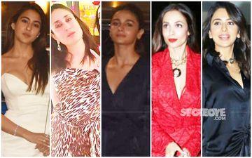 BEST DRESSED & WORST DRESSED On Christmas Eve 2019: Sara Ali Khan, Kareena Kapoor Khan, Alia Bhatt, Malaika Arora Or Rakul Preet Singh?