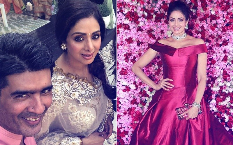 'Gossip Never Entered Our Conversation', Manish Malhotra Pens An Emotional Letter On Sridevi