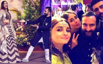 Did You See These Inside Pictures From Sonam Kapoor's Wedding Party?