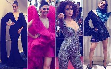 Cannes 2018: Basic But Bold Says Deepika Padukone, Shimmer & Drama Is Kangana Ranaut's Call!