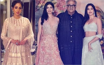 Sridevi To Be Honoured At Cannes; Janhvi & Khushi & Boney To Attend