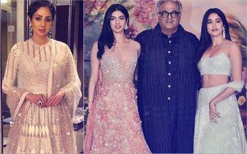 Sridevi To Be Honoured At Cannes; Janhvi & Khushi & Boney To Attend