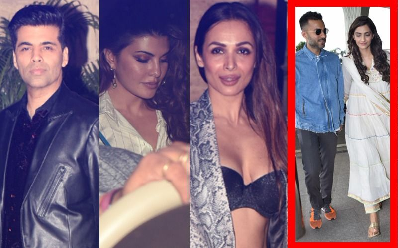 Sonam-Anand Marriage Celebration At Poonawalla Farmhouse: Jacqueline, Karisma, Malaika, KJo Sizzle