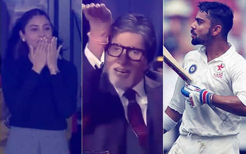 "Amitabh Bachchan On Anushka Sharma-Virat Kohli Exchanging Flying Kisses During Matches: ""Hum Sab Dekhte Hai Jo TV Pe Hota Hai"""