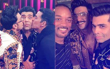 Ranveer Singh And Akshay Kumar Join Karan Johar On Koffee With Karan 6. Does Will Smith Have A Cameo?