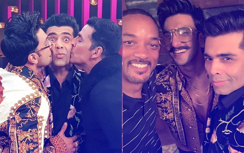 Ranveer Singh And Akshay Kumar Join Karan Johar On Koffee With Karan 6. Does Will Smith Have A Cameo?