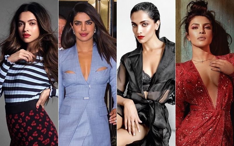 Hot Pics Of Brides-To-Be Deepika Padukone And  Priyanka Chopra