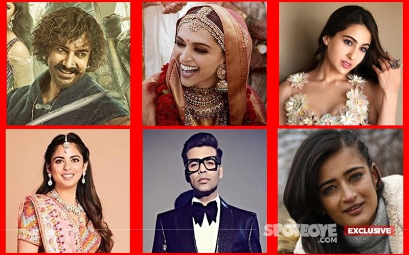 The Good, Bad, Ugly Of Last Week: Thugs Of Hindostan, Sara Ali Khan, Deepika Padukone, Isha Ambani, Karan Johar, Akshara Haasan