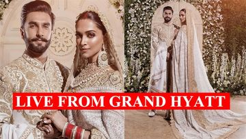 Deepika Padukone-Ranveer Singh Mumbai Wedding Reception: First Pictures Of The Newlyweds; We Can't Take Our Eyes Off Them