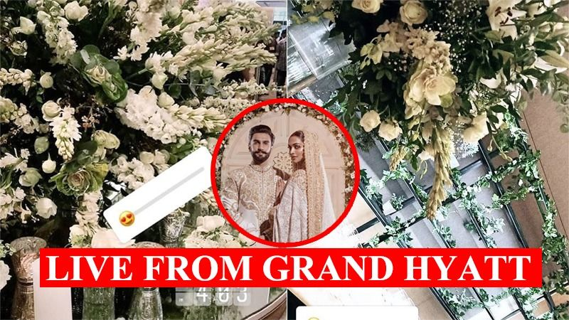 Deepika Padukone-Ranveer Singh Wedding Reception: Venue Gets Decked Up In Floral Decoration - View Pictures
