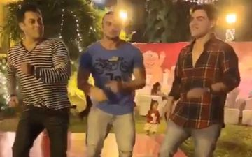 Salman-Arbaaz-Sohail 'KhanShake' Video Catches Fire On Internet