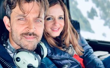 "Hrithik Roshan Turns 45: Sussanne Khan Wishes, ""Happiest Happy Birthday To My BFF"""