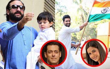 Happy Republic Day 2019: Taimur Hoists Flag With Saif-Kareena; Salman Khan, Katrina Kaif, Vicky Kaushal Feel Patriotic