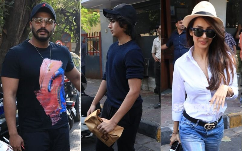 Arjun Kapoor Warms Up To Malaika Arora's Son, Arhaan Khan