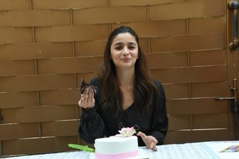 After Ranbir Kapoor's Midnight Surprise For Alia Bhatt, The Birthday Girl Celebrates Her Special Day With Media